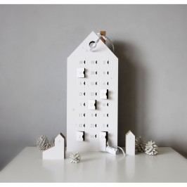 Adventní kalendář se stříbrnými detaily Unlimited Design for kids Vánoční dekorace