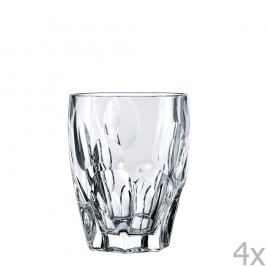 Sada 4 sklenic na whiskey z křišťálového skla Nachtmann Sphere, 300ml