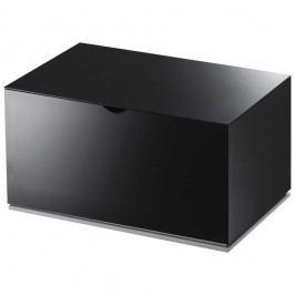 Černá krabička do koupelny YAMAZAKI Veil Vybavení koupelny