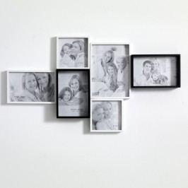 Nástěnný fotorámeček na 6 fotografií Tomasucci Random Obrazy, rámy atabule