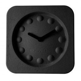 Černé nástěnné hodiny Zuiver Pulp Square