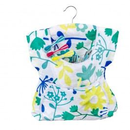 Závěsná bavlněná taška na kolíčky Wenko Peg Dress