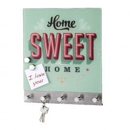 Magnetický věšák na kabáty Wenko Home Sweet Home