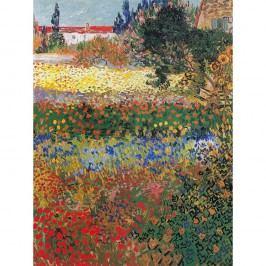 Reprodukce obrazu Vincenta van Gogha - Flower garden, 40x30cm