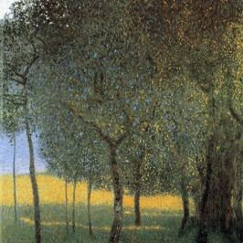 Reprodukce obrazu Gustav Klimt - Fruit Trees, 45x45cm Obrazy, rámy atabule