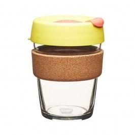 Cestovní hrnek s víčkem KeepCup Brew Cork Edition Safron, 340 ml