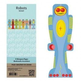 Sada záložek Mon Petit Art Robots
