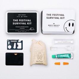 Cestovní sada na hudební festival Men's Society Festival Survival