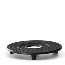 Černá litinová podložka pod konvici na čaj Bredemeijer Jing, ⌀ 13,4 cm