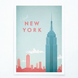 Plakát Travelposter New York, A3