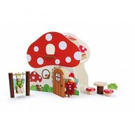 Dřevěný domeček na hraní Legler Mushroom House Malé princezny
