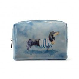 Velká kosmetická taška Catseye London Sausage Dog