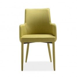 Sada 4 zelených jídelních židlí Intertrade Gala