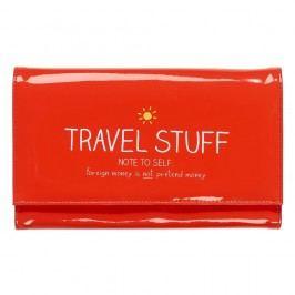 Cestovní pouzdro na doklady Happy Jackson Travel Stuff Nadčasové kabelky atašky