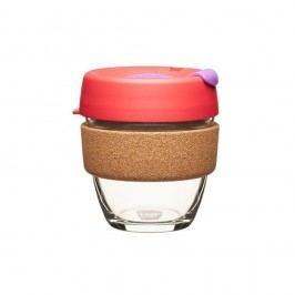 Cestovní hrnek s víčkem KeepCup Brew Cork Edition Sumac, 227 ml
