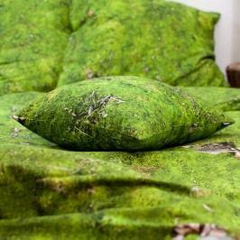 Povlak na polštář s příměsí bavlny Foonka Mech, 50x60cm