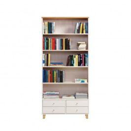 Knihovna z borovicového dřeva Askala Scala