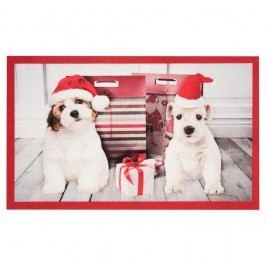 Rohožka Hanse Home Christmas Dogs, 45x75 cm