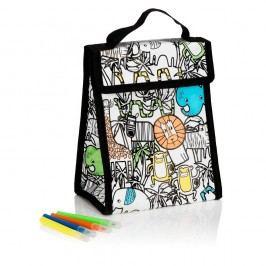 Set popisovatelné taštičky na oběd a čtyř psacích per NPW Lunch Bag
