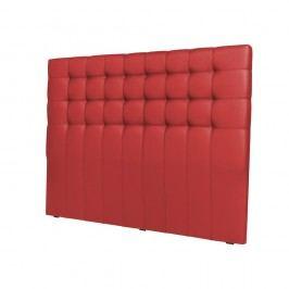 Červené čelo postele Cosmopolitan design Torino, šířka162cm