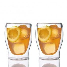 Sada 2 dvoustěnných sklenic Bredemeijer Tumbler, 350ml