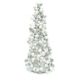 Dekorativní stromek ve stříbrné barvě Ixia Tree, výška 35 cm Vánoční dekorace