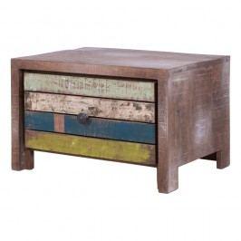 Nízký stolek se zásuvkou Canett Haiti