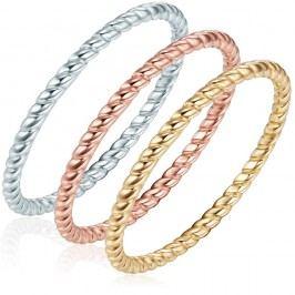 Trojitý prsten Ines Cavalera Silvia, vel. 58