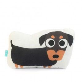 Bavlněný dětský polštářek Mr. Fox Dogs, 40x30cm