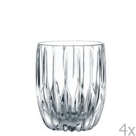 Sada 4 sklenic na whiskey z křišťálového skla Nachtmann Prestige, 290ml