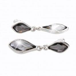 Náušnice s krystaly Swarovski® Yasmine Helle Black Diamond