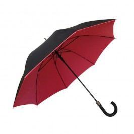 Červenočerný větruodolný deštník Ambiance Susino Noir Rouge, ⌀104cm