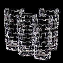 Sada 4 sklenic z křišťálového skla Nachtmann Bossa Nova, 395ml