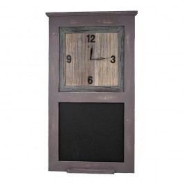 Dřevěné hodiny s tabulí Ego Dekor