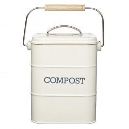 Krémový domácí kompostér Kitchen Craft Living Nostalgia