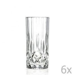 Sada 6 křišťálových sklenic RCR Cristalleria Italiana Jemma