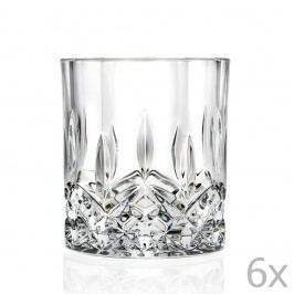 Sada 6 sklenic RCR Cristalleria Italiana  Alda