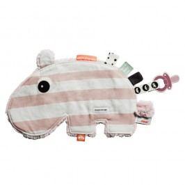 Růžovo-bílá multifunkční hračka Done by Deer Cozy Ozzo