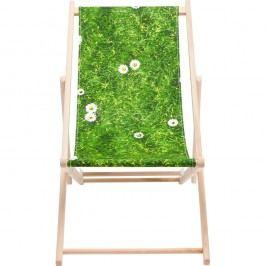 Zelené  lehátko Kare Design Meadow