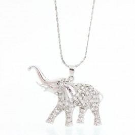 Náhrdelník se Swarovski Elements Laura Bruni Elephant