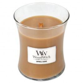 Svíčka s vůní skořice, ovsa a mandlového mléka WoodWick Ovesné sušenky, dobahoření60hodin Svíčky aaromalampy