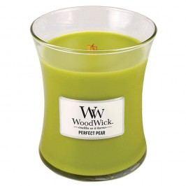 Svíčka s vůní hrušek WoodWick, dobahoření60hodin