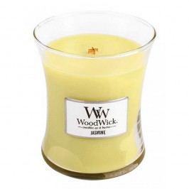 Svíčka s vůní jasmínu WoodWick, dobahoření60hodin
