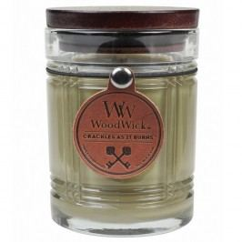 Svíčka s vůní vanilky WoodWick Antique, dobahoření50hodin