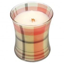 Svíčka s vůní zázvoru a koření WoodWick Picture Perník, dobahoření60hodin