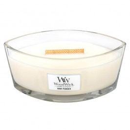 Svíčka s vůní vanilky, medu a růže WoodWick Dětský pudr, dobahoření80hodin
