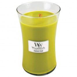 Svíčka s vůní hrušek WoodWick, dobahoření130hodin