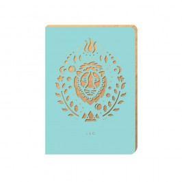 Linkovaný zápisník Portico Designs Lev, 124stránek
