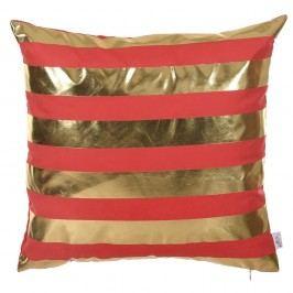 Červený povlak na polštář Apolena Rallas De Sol, 45 x 45 cm