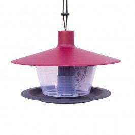 Červenošedé krmítko pro ptactvo Plastia Finch